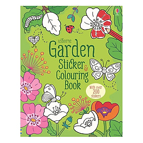 Usborne Garden Sticker and Colouring Book