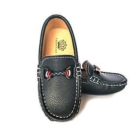Giày Lười Loafer Bé Trai Đẹp CrownUK George Louis Moccasin Trẻ em Nam Cao Cấp CRUK443
