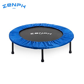 XiaomiZenph Foldable Muted Round Trampoline Kids Indoor Entertainment Tool Adult Fitness Workout Stability Training Trampoline-2