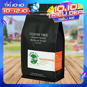 Cà phê bột Robusta nguyên chất 100% 500gr - Coffee Tree thơm ngon, đậm đà