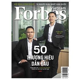 Forbes Việt Nam số 87 - 50 Thương hiệu dẫn đầu