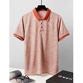 OWEN - Áo Polo nam ngắn tay Owen màu cam gach 23058- Áo thun có cổ nam
