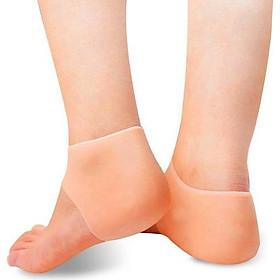 Miếng bảo vệ gót chân silicon (Màu cam)