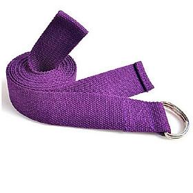 Dây đai tập yoga sợi cotton(Nhiều màu)