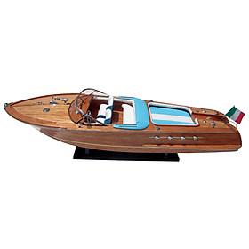 Thuyền gỗ trang trí RIVA AQUARAMA