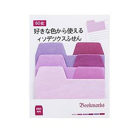 60 Miếng Giấy Ghi Chú Đánh Dấu Sách Bookmark