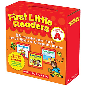 First Little Readers: Guided Reading Level A (Parent Pack)