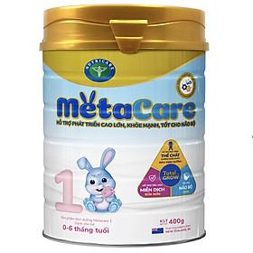 Sữa bột Nutricare Metacare 1 Mới - phát triển toàn diện cho trẻ 0-6 tháng tuổi (400g)-0