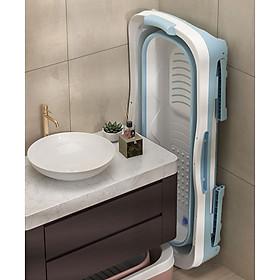 Chậu tắm -bồn tắm silicon gấp gọn cho cả gia đình - tiết kiệm không gian phòng tắm