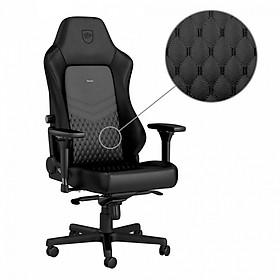 Ghế gaming cao cấp Noblechairs Hero Real Leather Black - Hàng chính hãng