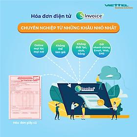 Phần mềm hóa đơn điện tử Viettel Sinvoice- Gói 5000 hóa đơn điện tử Viettel - HÀNG CHÍNH HÃNG 100%