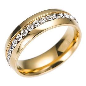 Nhẫn titanium nạm đá BHN101