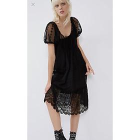 váy midi ren ZA