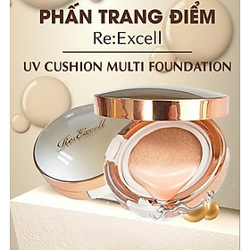 Combo trang điểm Daily Beauty gồm Phấn nước CC Cushion + 4 thỏi son lì Re:Excell Lipstick + kem nền BB cream R&B Việt Nam nhập khẩu chính ngạch Hàn Quốc-2