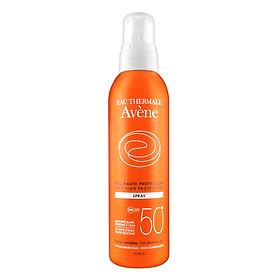Chai Xịt Chống Nắng Bảo Vệ Tối Đa Avène Very High Protection Spray 50+ (200ml)