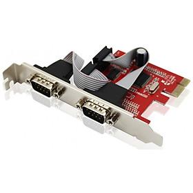 CARD PCI Ra 2 COM 9 EXPRESS UNITEK (Y-7504) - Hàng chính hãng