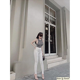 Quần jean trắng siêu đẹp. Size S M L