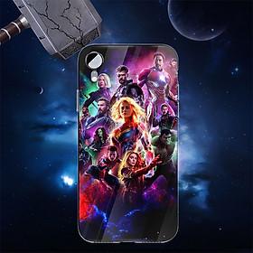 Ốp kính cường lực dành cho điện thoại Samsung Galaxy J7 2017 - J7 Plus - J7 PRO - Biệt đội siêu anh hùng - bdsah015