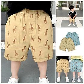 QN6Size90-130 (9-27kg)Quần kaki cho bé - kiểu dáng lửngThời trang trẻ Em hàng quảng châu