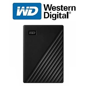 Ổ Cứng Di Động WD My Passport 4TB Màu Đen Model 2019 - Hàng Nhập Khẩu