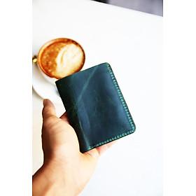 Ví đựng tiền, ví nam cao cấp da bò thật, được làm thủ công, tinh tế, đựng được chứng minh nhân nhân, thẻ ATM, mẫu ví trẻ trung và năng động XD_1