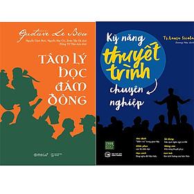 Combo 2 Cuốn Sách:  Kỹ Năng Thuyết Trình Chuyên Nghiệp + Tâm Lý Học Đám Đông