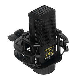 Square Condenser Microphone Omnidirectional Multifuctional for Studio Recording Podcasting Live Streaming Smartphones