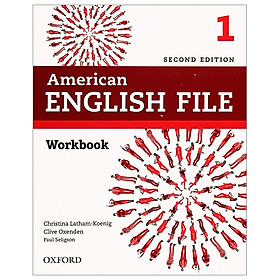 American English File 2nd Edition: Level 1: Workbook