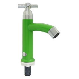Vòi Lavabo Lạnh Cao Nhựa ABS Eurolife EL-LA02 (Xanh)