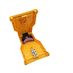 Đá mài lưỡi cưa xích - Dụng cụ mài lưỡi cưa xích màu vàng. Tặng 1 móc khóa hình công cụ (ngẫu nhiên)