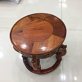 Ghế đôn kỷ tròn,có nhiều kích cỡ, gỗ hương việt nam