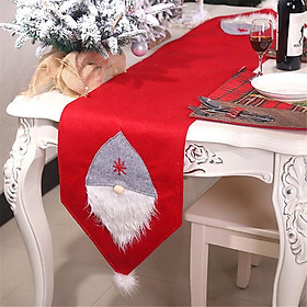 Christmas Table Runner Creative Xmas Swedish Gnome Table Runner Christmas Decoration For Home Wedding Party Tables Desktop Decor