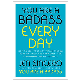 [Download Sách] You Are A Badass Every Day
