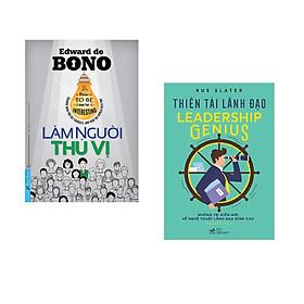 Combo 2 cuốn sách: Làm Người Thú Vị + Thiên tài lãnh đạo