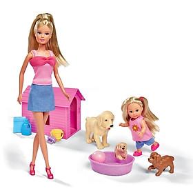 Đồ Chơi Trẻ Em Búp Bê Thú Cưng Vui Vẻ, Steffi Love Happy Animal 105732156 - Mẫu 2