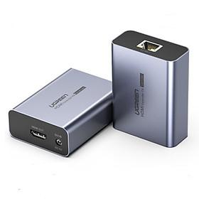 Bộ kéo dài HDMI 50m qua mạng lan Cat5e, Cat6 chính hãng Ugreen 50739