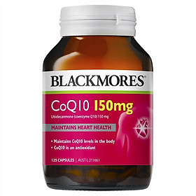Blackmores CoQ10 150mg 125 Capsules Exclusive Size