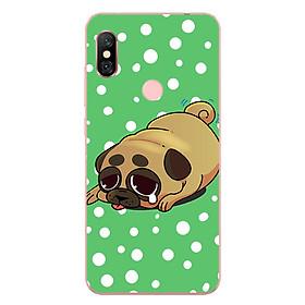 Hình đại diện sản phẩm Ốp lưng dành cho điện thoại Xiaomi Redmi Note 6/Redmi Note 6 Pro - Dog cry 02