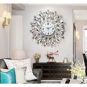 Đồng hồ treo tường trang trí Đồng hồ chim công đồng hồ trang trí G