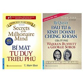Combo 2 Cuốn Sách: Bí Mật Tư Duy Triệu Phú + Bí Quyết Đầu Tư & Kinh Doanh Chứng Khoán Của Tỷ Phú Warren Buffett Và George Soros