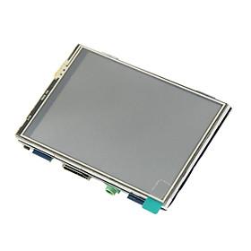 3.5 Inch Cảm Ứng Điện Trở Màn Hình Màn Hình HDMI Mô Đun Cho Raspberry Pi/Máy Tính