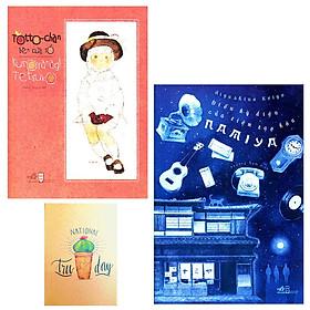 Combo Totto-Chan Bên Cửa Sổ và Điều Kỳ Diệu Của Tiệm Tạp Hóa ( Tặng Kèm Sổ Tay )