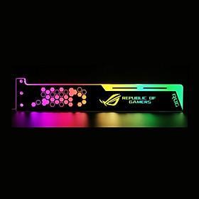Thanh Led Chắn độ trang trí cho case máy tính cắm trực tiếp nguồn 4pin molex AORUS ROG - hàng nhập khẩu