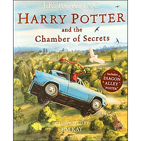 Harry Potter and the Chamber of Secrets : Illustrated Edition