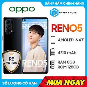 Điện Thoại Oppo Reno 5 (8GB/128G) - Hàng Chính Hãng -Đã kích hoạt bảo hành điện tử