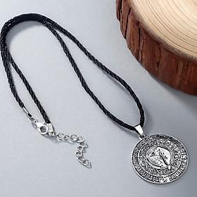 Hình đại diện sản phẩm Norse Mythology Vikings Birds Amulet Pendant Chain Necklace Choker Fashion