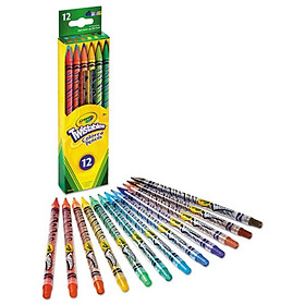 Bộ 12 bút chì màu dạng vặn CRAYOLA 687408