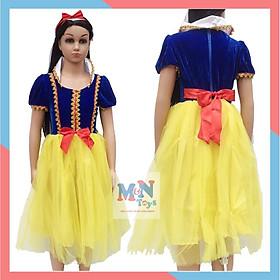 Bộ váy hóa trang công chúa Bạch Tuyết cho dịp trung thu, halloween