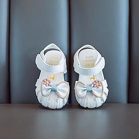 giày sandal siêu cute cho bé yêu hình nơ