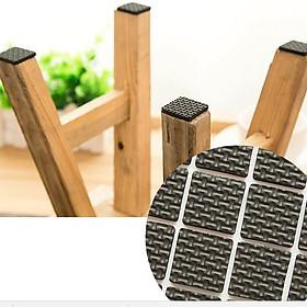 Bộ 12 miếng dán chân bàn ghế, kệ tủ chống trầy sàn nhà